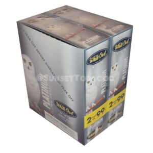White Owl Cigarillos Platinum 30 Packs of 2/60ct.