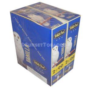 White Owl Cigarillos Vanilla 30 Packs of 2/60ct.