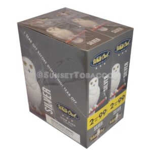 White Owl Cigarillos Silver 30 Packs of 2/60ct.