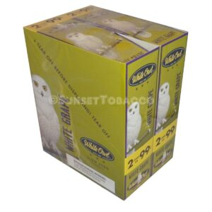 White Owl Cigarillos White Grape 30 Packs of 2/60ct.