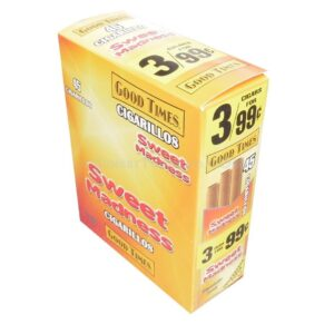 Good Times Cigarillos Sweet Madness 15 Packs of 3/45ct.