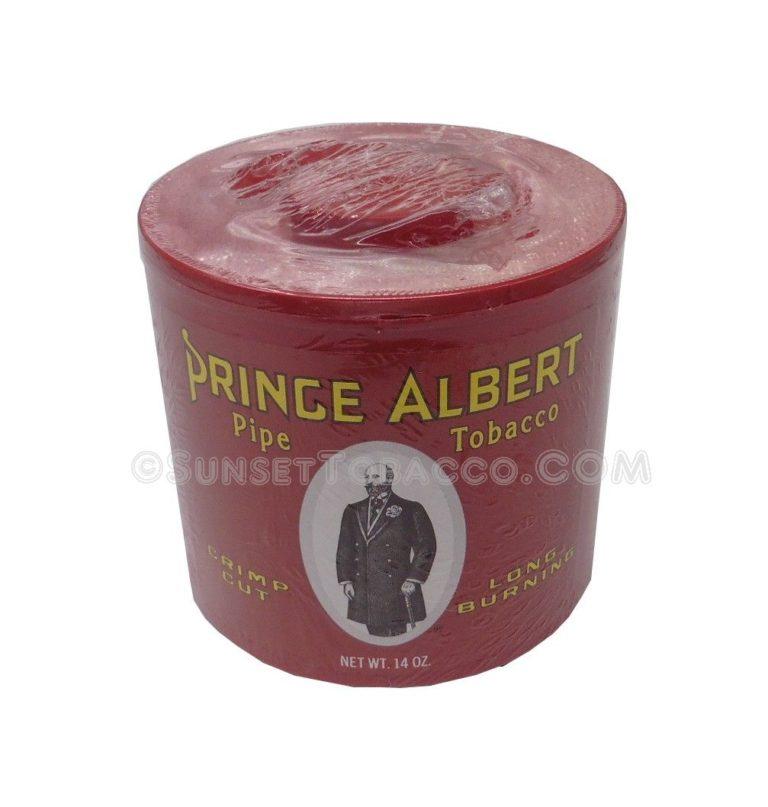 Prince Albert Pipe Tobacco Can 14 oz.