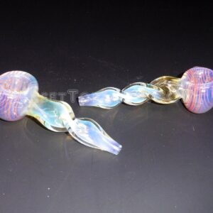 "4"" Twisted Body Fumed OS Spoon"