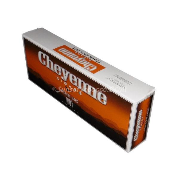 Cheyenne Filtered Cigar Peach 10 Packs of 20/200ct.