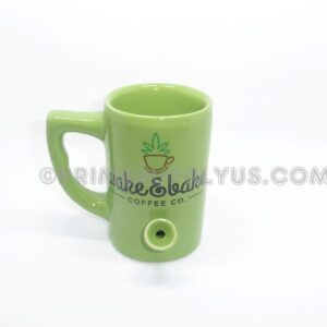 Coffee Mug Bowl u2013 Wake u0026 Bake Green  sc 1 st  Prime Supply Inc u2013 Tobacco & Water Pipe u2013 Prime Supply Inc