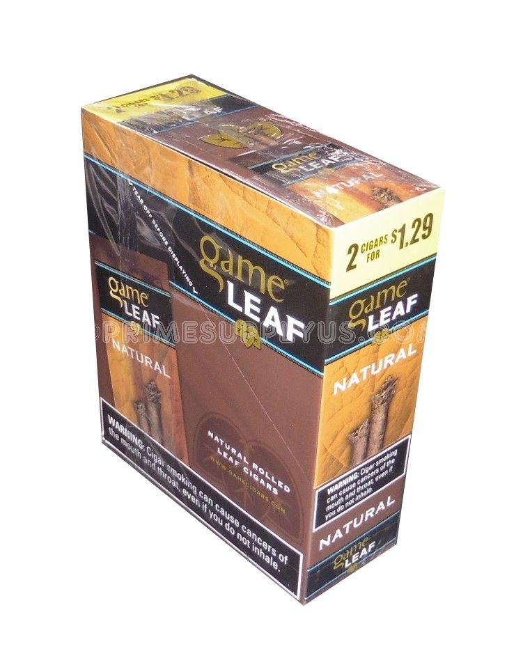 Game Leaf Natural 15 Packs Of 2 For 129