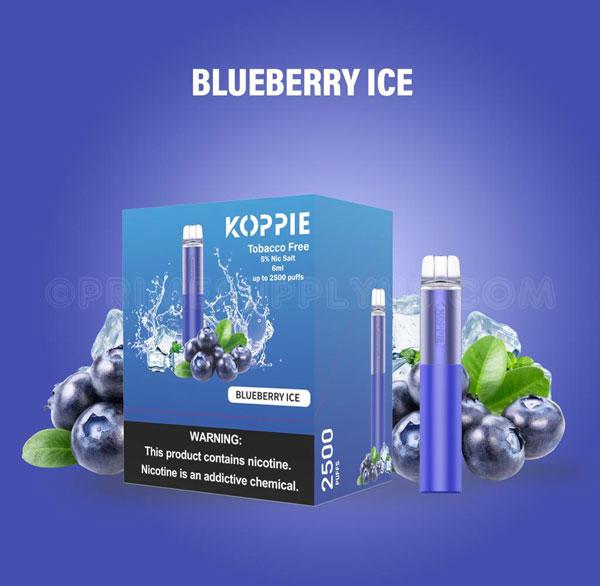 Koppie Blueberry Ice