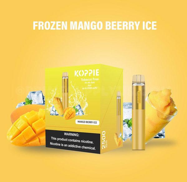 Koppie Frozen Mango Berry Ice