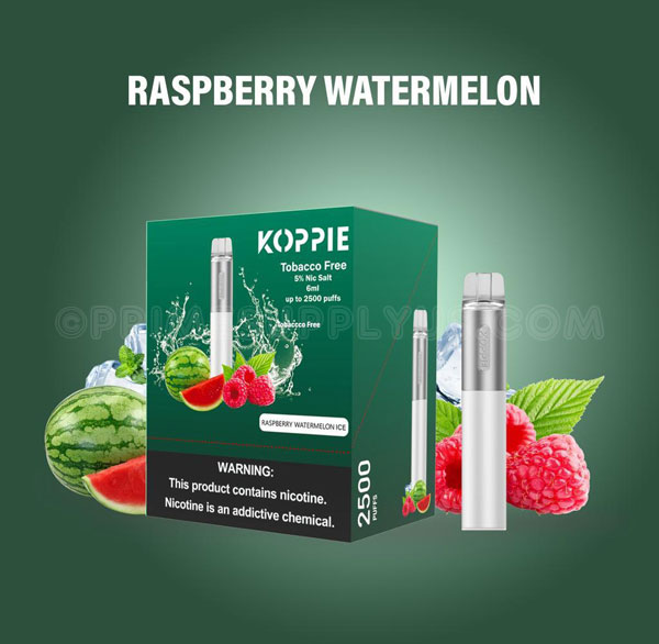 Koppie Raspberry Watermelon Ice