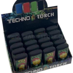 Techno Torch Emoji