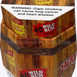 Backwoods Wild Rum Barrel Display