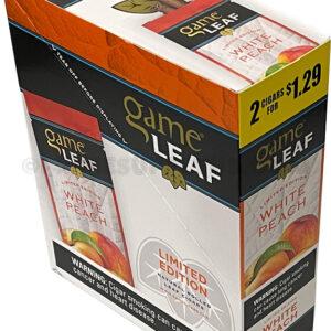 Game Leaf White Peach