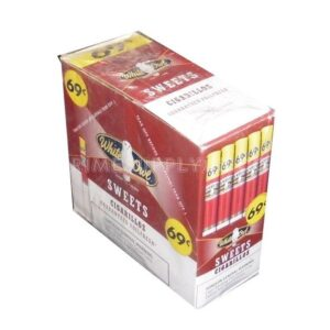 White Owl Cigarillos Sweets 60ct