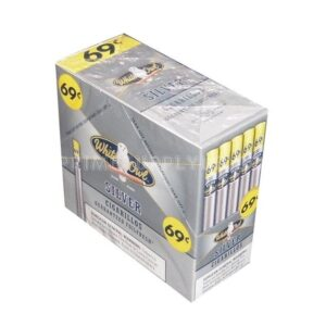 White Owl Cigarillos Silver 60ct