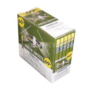 White Owl Cigarillos Green Sweet 60ct