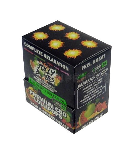 Hemp Bomb Premium CBD Lollipops 24ct