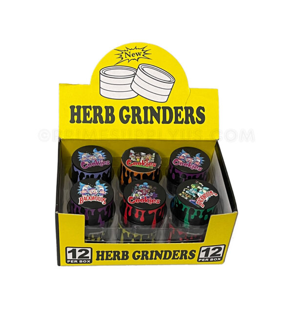 4 Part 40mm Cartoon Grinder