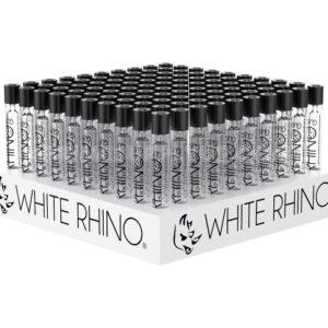 White Rhino Glass Chillums 100ct/display