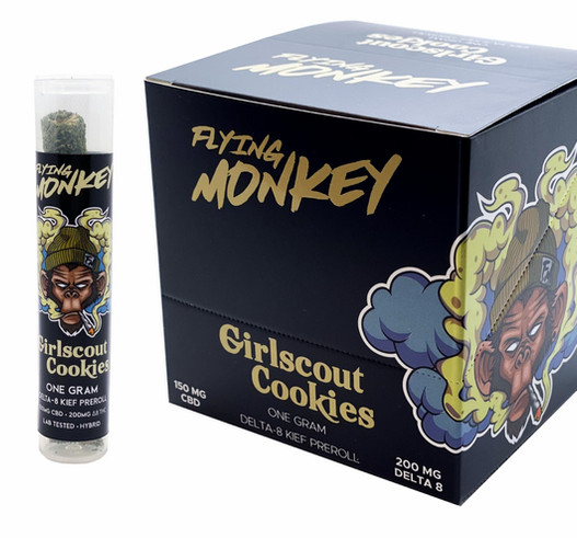 Flying Monkey Girl Scout Cookies